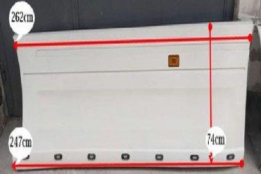 Új után gyártott Scania tanktakaró oldalspoiler  a gyártótól