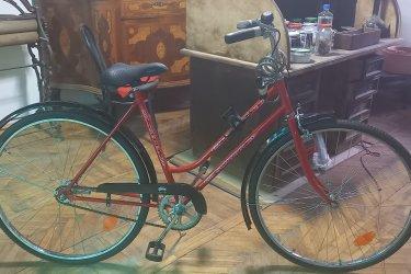 Schwinn & Csepel piros kerékpár