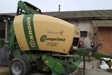 Krone Comprima  F155XC körbálázó eladó