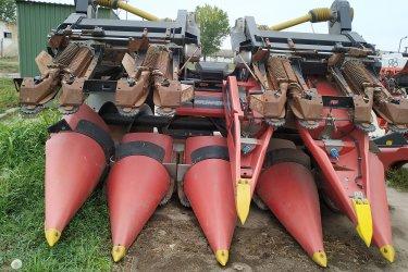 Geringhoff RD830FB kukoricaadapter eladó New Holland Kombájnra adaptálva!