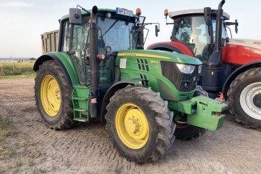 John Deere 6115M tip. traktor