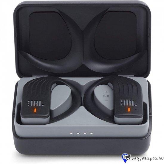 Beépített mikrofon  Hívás- és zenevezérlés  Vízálló  Sportoláshoz kifejlesztve  Frekvencia: 16 - 22000 Hz  Szabadítsd fel magad minden korlát alól és készülj fel a teljesítményed új szintjére a JBL Endurance PEAK fülhallgatóval.  Élvezd a teljesen vezeték mentes edzés szabadságát anélkül, hogy fel kellene töltened a fülhallgatót, akár 28 órán keresztül (4 óra + 24 órás készenléti energia). De ha úgy érzed, hogy még mindig többre vágysz, akkor csak 10 percnyi töltéssel újabb egy órán keresztül motivál majd a kedvenc zenéd.  Az IPX7 vízálló kialakítással a JBL Endurance PEAK garantálja, hogy soha nem fog sérülni vagy kiesni a füledből, a rugalmasabb fülhorog pedig még nagyobb biztonságot nyújt. Ráadásul a JBL Endurance PEAK fülhallgatók mind mono, mind sztereó üzemmódban működnek.  A PowerHook ™ technológiának köszönhetően a JBL Endurance PEAK fejhallgató kényelmesen be- és kikapcsolja magát, amint elkezded hordani, vagy épp leveszed, így készen áll arra, hogy minden edzésen veled legyen, amikor csak szükséged van rá.  Házhozszállítás lehetséges! Vagy foxpost !  ⬇️⬇️⬇️⬇️⬇️⬇️⬇️⬇️ ????Még több termék www.mindigoutlet.hu????