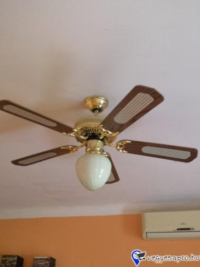 Kituno allapotban levo ventillatoros lampa